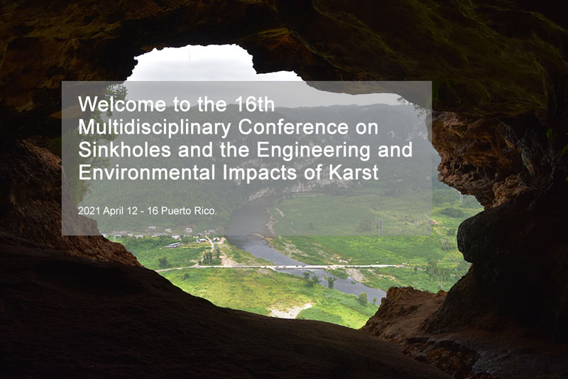 16th Multidisciplinary Conference on Sinkholes and the Engineering and Environmental Impacts of Karst