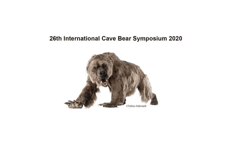 The 26th International Cave Bear Symposium (ICBS 2020) will be held in Reiss-Engelhorn-Museen, Mannheim, Germany on 8-11 October 2020