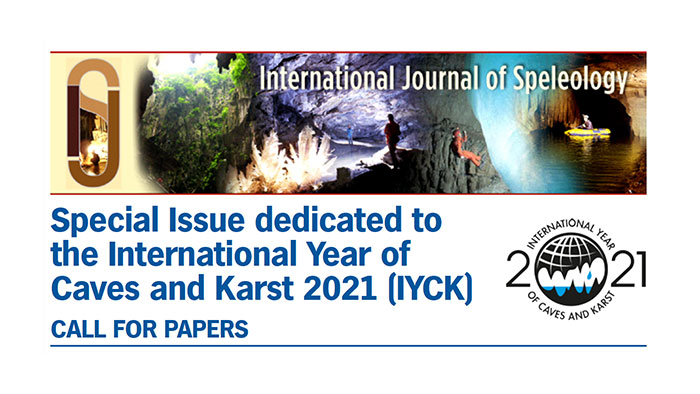 Special issue dedicated to the international year of caves and karst (IYCK)